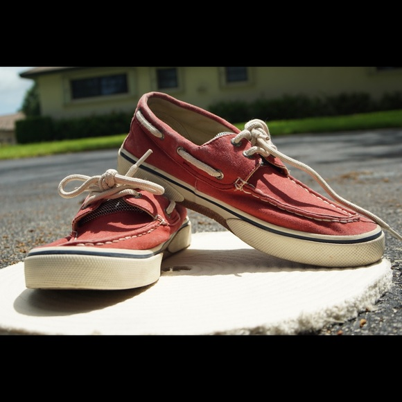 Sperry Shoes | Sperry Topsiders Red